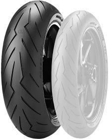 Pirelli Diablo Rosso III Tire 180/60-17 Rear SR180-17
