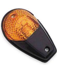 BikeMaster Flush Mount Turn Signals Black/Amber
