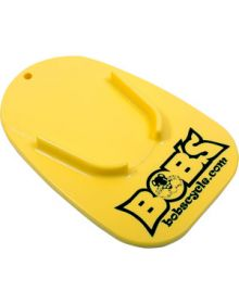 Bobs Cycle Logo Kickstand Pad Yellow