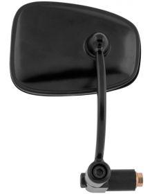 "BikeMaster Archer Bar End Mirror Semi-Rectangle 4.75"" x 3.50"""