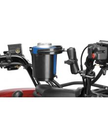 RAM Rail Mount with Self-Leveling Cup Holder & Koozie