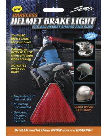 Street Fx Helmet Brake Light Red