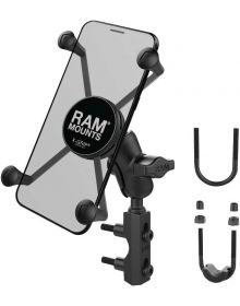 Ram Mounts Phone/GPS X-Grip Complete Universal Large Phone Short Arm