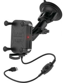 Ram Mounts Phone/GPS WP Wireless Suction Cup X-Grip