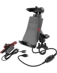 Ram Mounts Phone/GPS WP Wireless Handlebar Quick-Grip