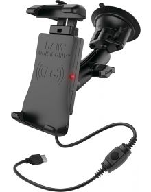Ram Mounts Phone/GPS WP Wireless Suction Cup Quick-Grip