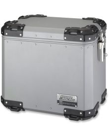 Moose Expedition Aluminum Side Cases Silver Large