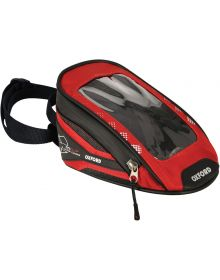 Oxford M1 Micro Magnetic Tank Bag Red