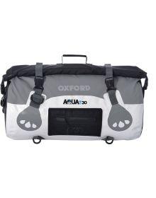 Oxford Aqua T-30 Roll Bag White/Grey