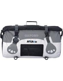Oxford Aqua T-20 Roll Bag White/Grey