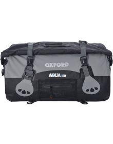 Oxford Aqua T-50 Roll Bag Black/Grey