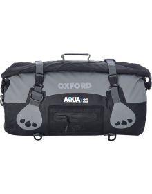 Oxford Aqua T-20 Roll Bag Black/Grey