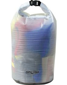 Kwik Tek Dry Pak Roll Top Dry Storage Bag Clear 11.5 in x 19 in