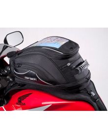 Cortech Super 2.0 18-Liter Strap Mount Tank Bag Black