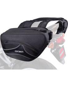 Cortech Super 2.0 Saddlebags Black