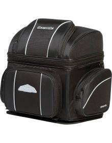 Tourmaster Nylon Cruiser IV Medium Sissybar Bag Black 21 L x 14.9 H x 12.2 W
