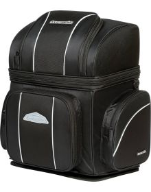 Tourmaster Nylon Cruiser IV Large Sissybar Bag Black 21 L x 18 H x 12.2 W