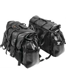 Giant Loop Round The World Soft Panniers Saddlebags Black