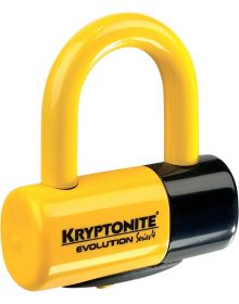 Kryptonite Evolution Series 4 Disc Lock Yellow