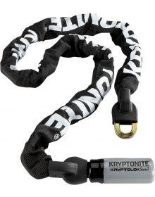Kryptonite Intergrated 4' Chain Lock Black