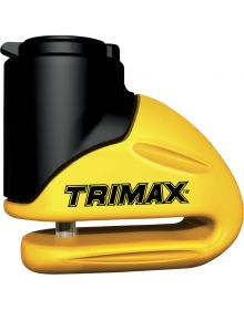 Trimax Disc Lock 5.5mm Pin Yellow