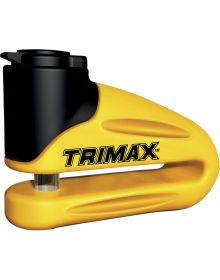 Trimax Disc Lock 10mm Pin Yellow