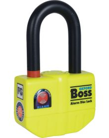 Oxford Boss Alarm Disc Lock 14mm Shackle