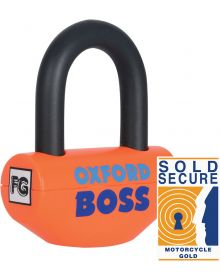 Oxford Boss Super Strong Disc Lock Orange