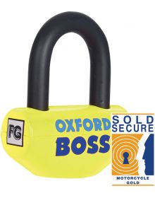 Oxford Boss Super Strong Disc Lock Yellow