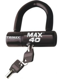 Trimax Max 40 Disc/Cable Lock Black