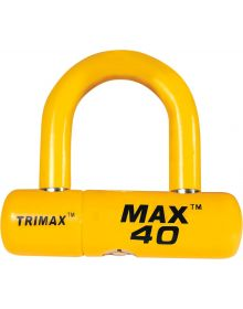 Trimax Max 40 Disc/Cable Lock Yellow