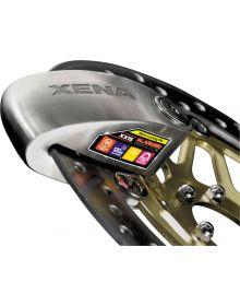 Xena XX-15 Alarm Disc Lock Silver