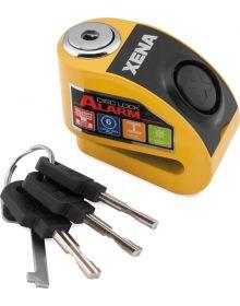 Xena XZZ6L Alarm Disc Lock Yellow