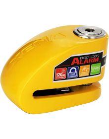 Xena XX-10 Alarm Disc Lock Yellow