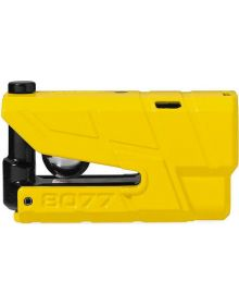 Abus Granit 8077 Detecto Xplus Alarm Disc Lock Yellow
