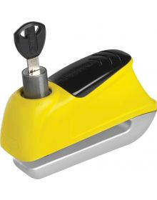 Abus Trigger Alarm Disc Lock 9.5mm Yellow