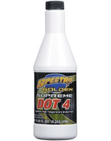 Spectro Golden Supreme Brake Fluid Dot 4 12oz