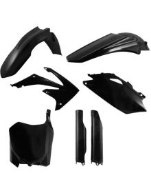 Acerbis Plastic Kit CRF250R 2010-2013 Black