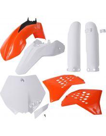 Acerbis Plastic Kit SX65 2009-2011Original 2011 Color