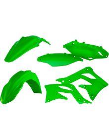 Acerbis Plastic Kit KX450F 2013-2015 Fluorescent Green