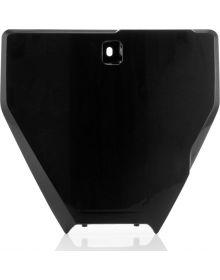 Acerbis Front Number Plate TC/TE250/300/FE250-501 2016 Black