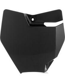 Acerbis Front Number Plate 65 SX 2016 Black