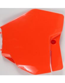 Acerbis Front Number Plate SXF/XCF 250-450, 125/150SX 2016 Orange