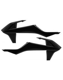 Acerbis Radiator Shrouds 125/150SX/250-450SXF 2016 Black