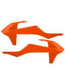 Acerbis Radiator Shrouds 125/150SX/250-450SXF 2016 Orange