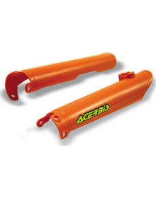 Acerbis Lower Fork Cover Set KTM 125-525EXC/MXC/SX 2000-2007 KTM Orange