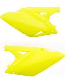 Acerbis Side Panels RMZ250 2010-2016 Flo-Yellow