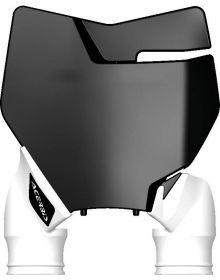 Acerbis Raptor Front Number Plate KTM 125-450 16-17 Black/White