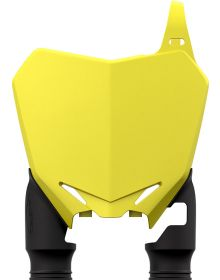 Acerbis Raptor Front Number Plate RMZ250/450 Yellow/Black