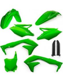 Acerbis Fork Guard Green - KXF250 17-18/450 16-18